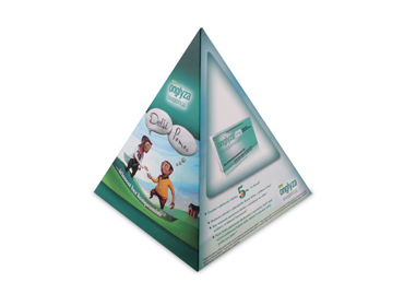 Pyramid Tissue Boxes